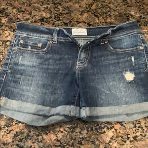 Jean Shorts from Aeropostale. Size 1/2.